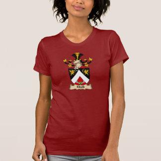 Escudo de la familia de Paus Camisetas