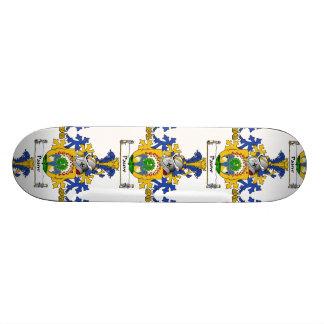 Escudo de la familia de Pauw Tabla De Skate