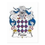 Escudo de la familia de Pavao Postal