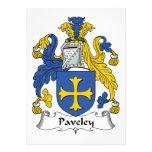 Escudo de la familia de Paveley Anuncio