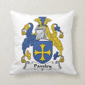 Escudo de la familia de Paveley Cojines