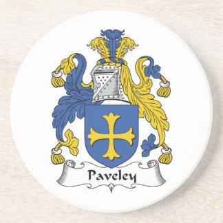 Escudo de la familia de Paveley Posavasos Manualidades