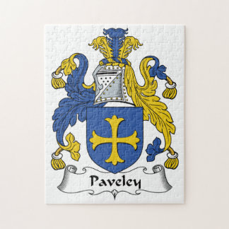 Escudo de la familia de Paveley Rompecabeza Con Fotos