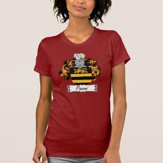 Escudo de la familia de Pavoni Camisetas