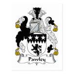Escudo de la familia de Pawley Postal