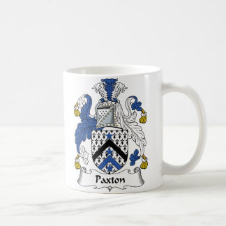 Escudo de la familia de Paxton Taza De Café