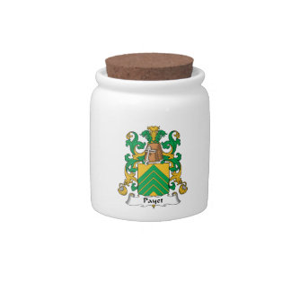 Escudo de la familia de Payet Platos Para Caramelos