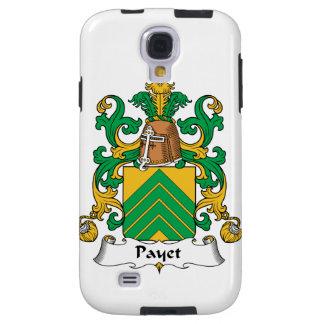 Escudo de la familia de Payet Funda Para Galaxy S4