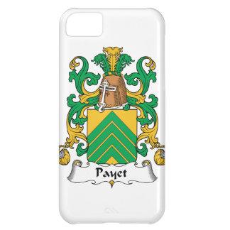 Escudo de la familia de Payet Funda Para iPhone 5C
