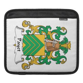 Escudo de la familia de Payet Mangas De iPad