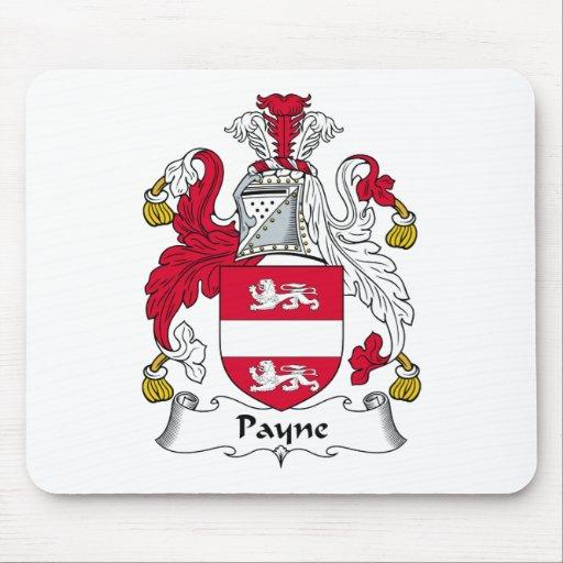 Escudo de la familia de Payne Mousepads
