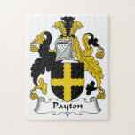Escudo de la familia de Payton Rompecabeza