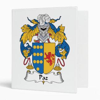 """Escudo de la familia de Paz Carpeta 1"""""""
