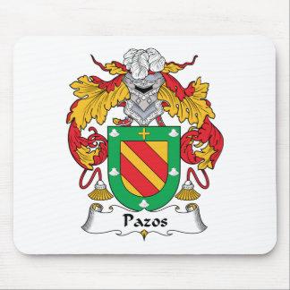 Escudo de la familia de Pazos Alfombrilla De Ratón