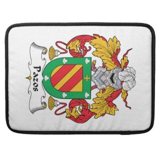Escudo de la familia de Pazos Fundas Para Macbooks