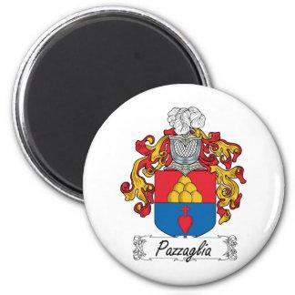 Escudo de la familia de Pazzaglia Imán Redondo 5 Cm
