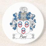 Escudo de la familia de Pazzi Posavasos Personalizados