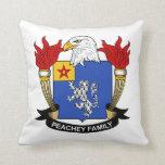 Escudo de la familia de Peachey Cojines