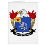 Escudo de la familia de Peachey Felicitaciones