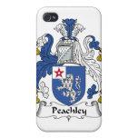 Escudo de la familia de Peachley iPhone 4 Fundas