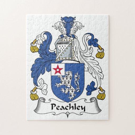 Escudo de la familia de Peachley Rompecabeza