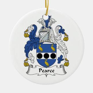 Escudo de la familia de Pearce Ornamentos De Reyes Magos