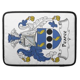 Escudo de la familia de Pearce Funda Para Macbook Pro