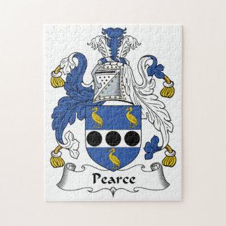 Escudo de la familia de Pearce Puzzles Con Fotos