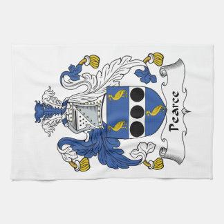 Escudo de la familia de Pearce Toallas De Mano