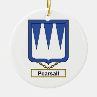 Escudo de la familia de Pearsall Adorno Para Reyes