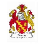 Escudo de la familia de Pearse Postal