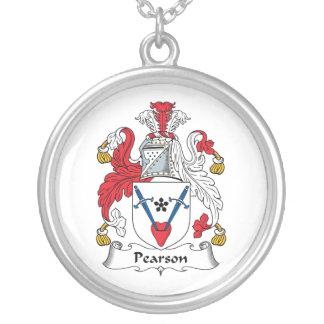 Escudo de la familia de Pearson Pendientes