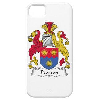 Escudo de la familia de Pearson iPhone 5 Case-Mate Carcasas