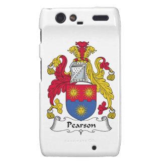 Escudo de la familia de Pearson Motorola Droid RAZR Carcasas