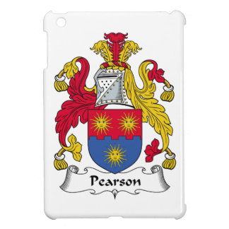 Escudo de la familia de Pearson iPad Mini Carcasas