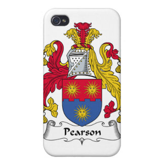 Escudo de la familia de Pearson iPhone 4 Cárcasa