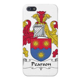 Escudo de la familia de Pearson iPhone 5 Cárcasa