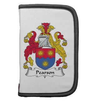 Escudo de la familia de Pearson Organizador