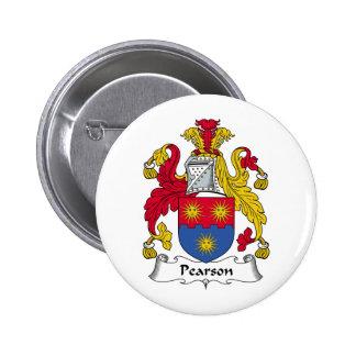 Escudo de la familia de Pearson Pins