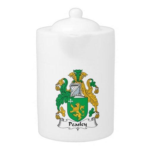 Escudo de la familia de Peasley