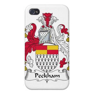 Escudo de la familia de Peckham iPhone 4 Cobertura