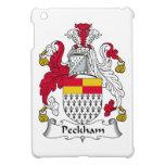 Escudo de la familia de Peckham iPad Mini Carcasas