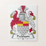 Escudo de la familia de Peckham Rompecabeza