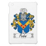 Escudo de la familia de Pedini iPad Mini Fundas