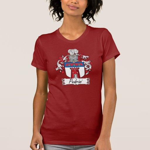 Escudo de la familia de Pedrini Camisetas