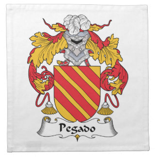 Escudo de la familia de Pegado Servilleta De Papel