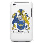 Escudo de la familia de Peirse Barely There iPod Fundas