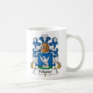 Escudo de la familia de Pelissier Taza De Café