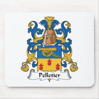 Escudo de la familia de Pelletier Alfombrilla De Ratón