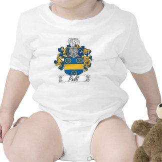 Escudo de la familia de Pelli Traje De Bebé